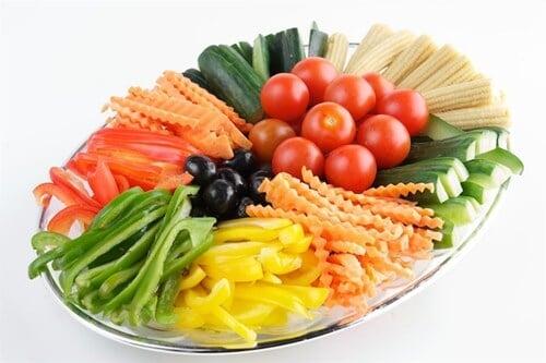 מגשי ירקות